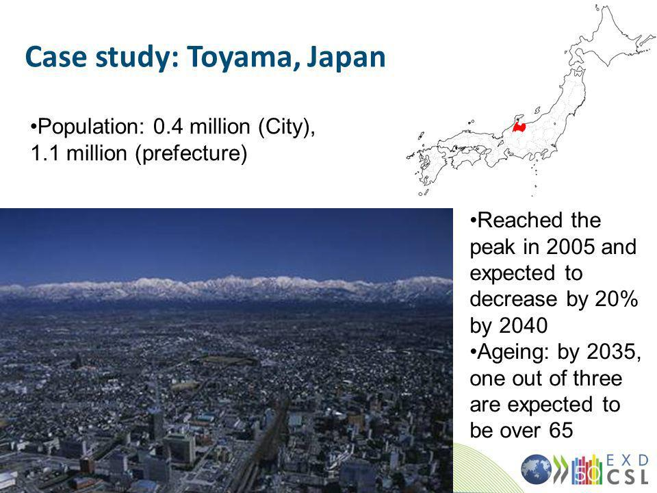 Case study: Toyama, Japan