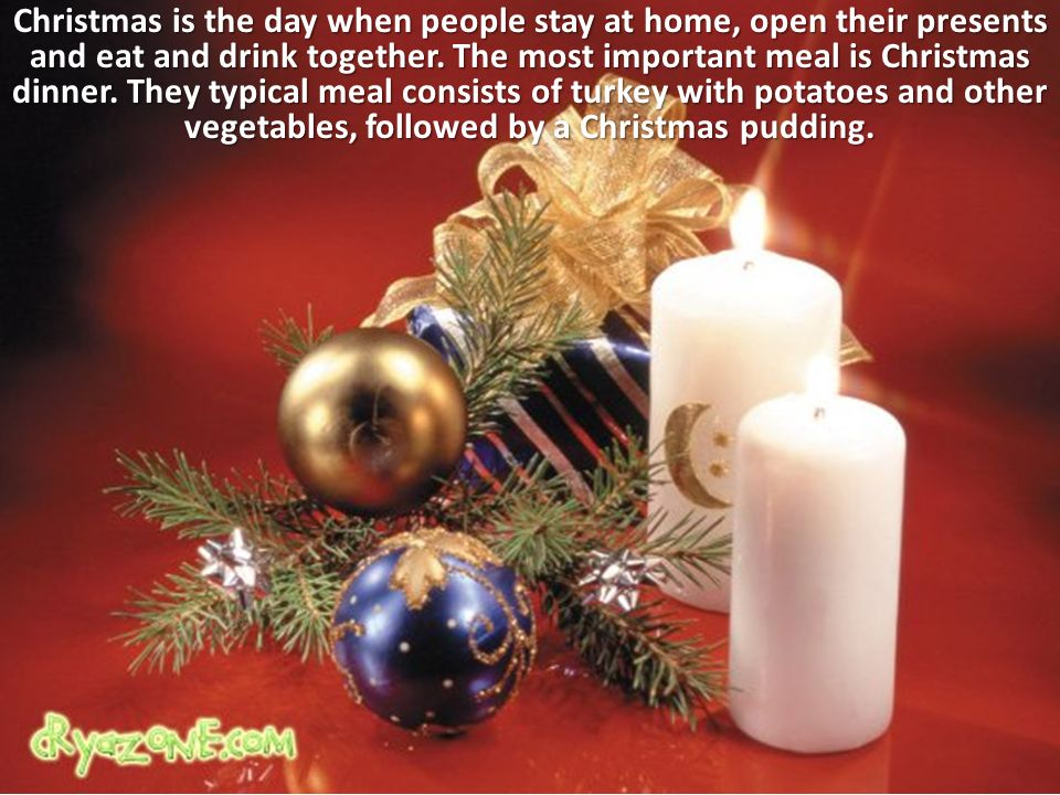 Christmas in britain christmas is the main public holiday for What s open to eat on christmas day