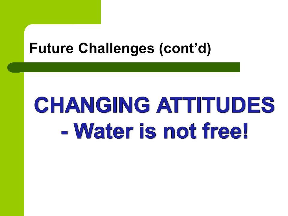 Future Challenges (cont'd)