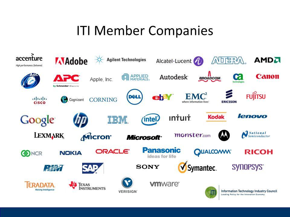 ITI Member Companies Apple, Inc.
