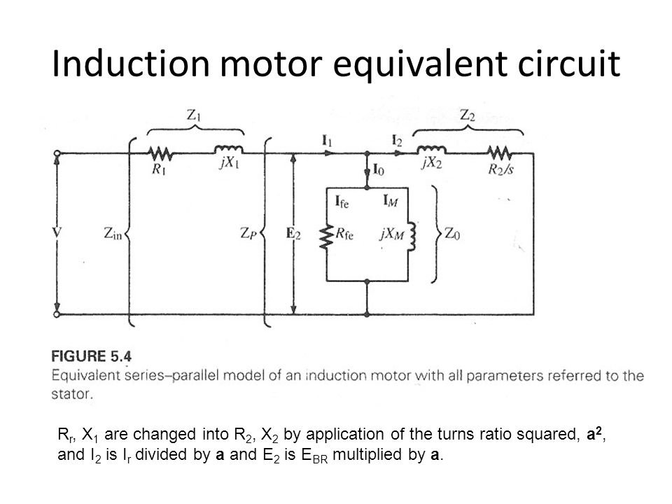 Equivalent circuit of induction motor 3 phase pdf 28 for Three phase induction motor pdf
