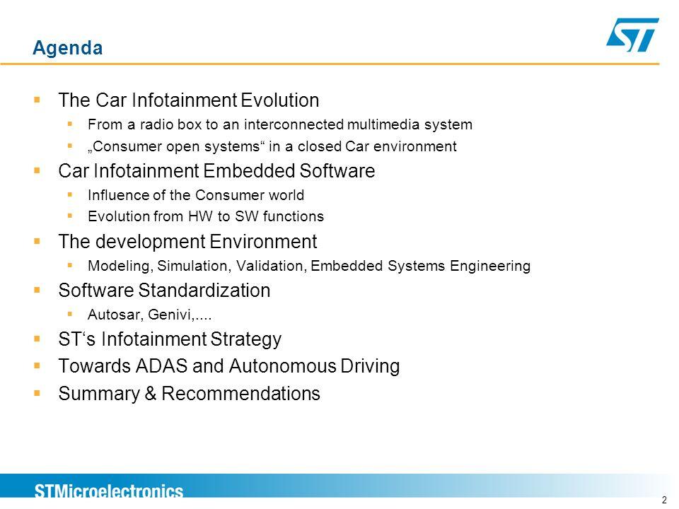 The Car Infotainment Evolution