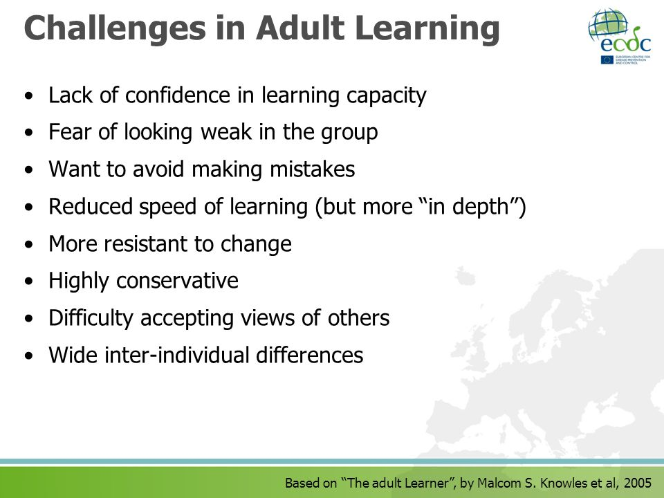 Challenges in Adult Learning