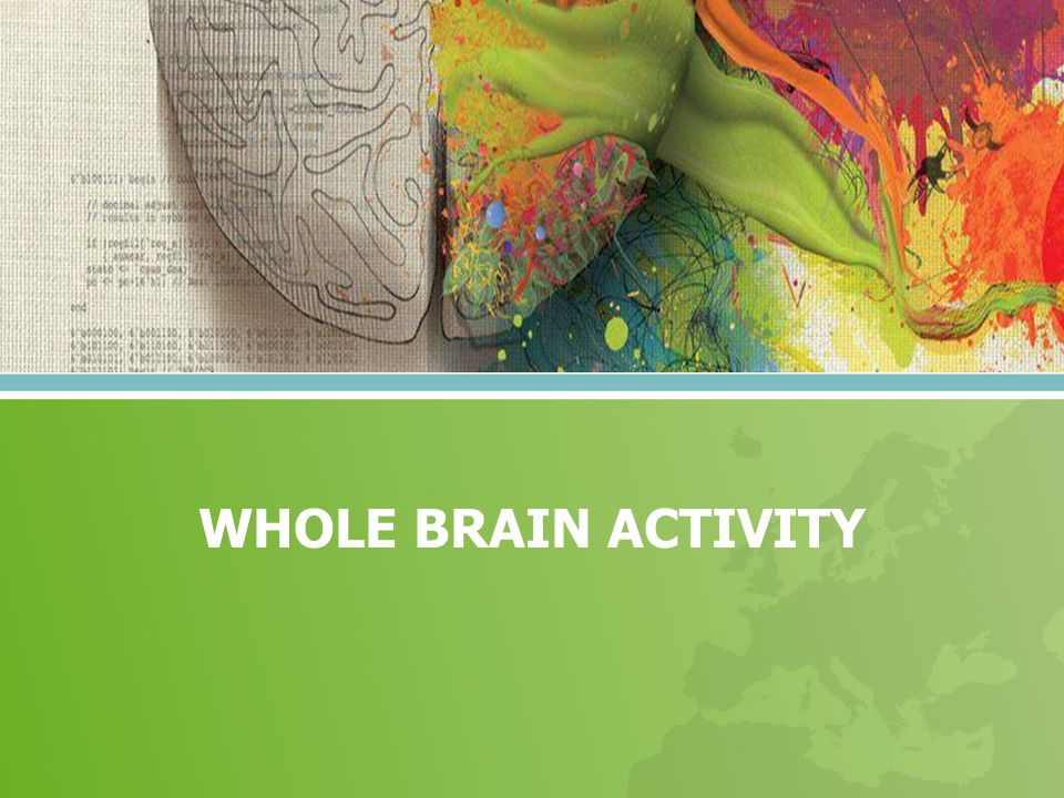 WHOLE BRAIN ACTIVITY