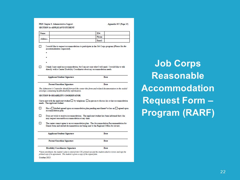 Reasonable Accommodation Process - ppt download