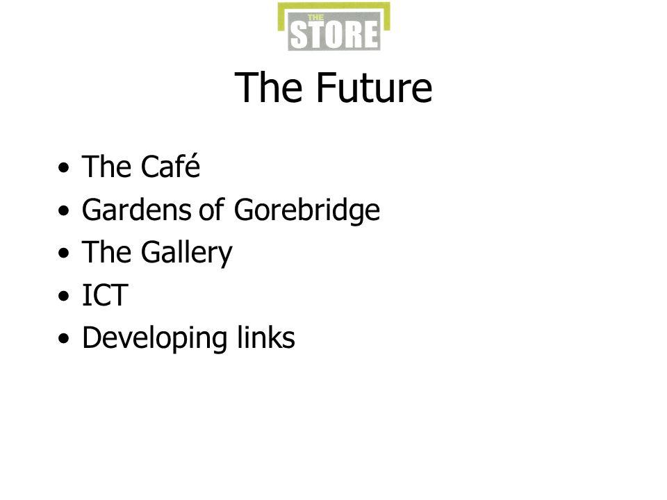 The Future The Café Gardens of Gorebridge The Gallery ICT