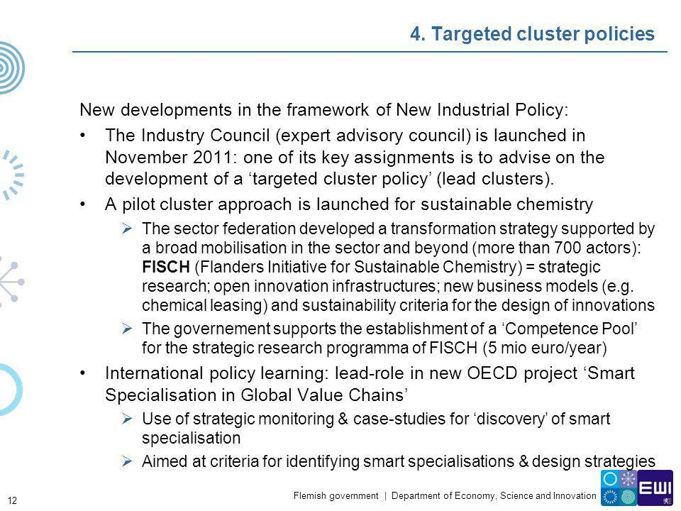 4. Targeted cluster policies