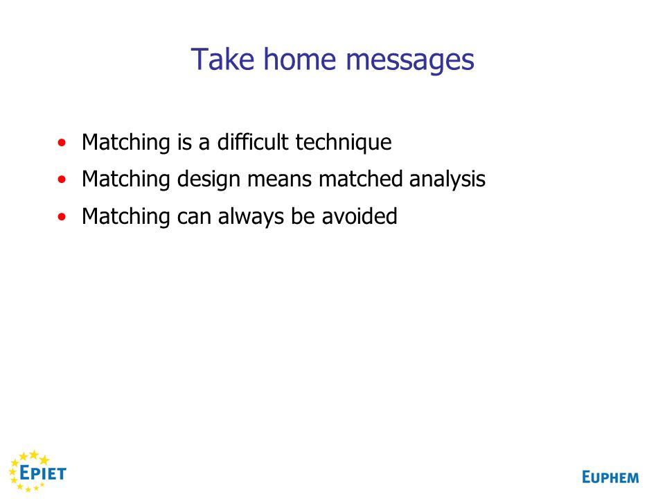 Matching In Case Control Studies Ppt Download
