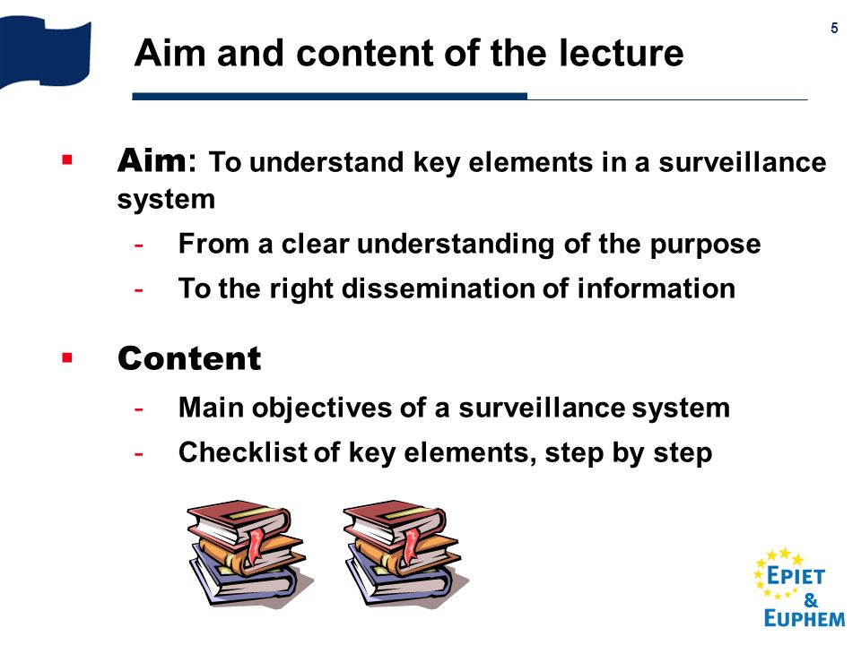Aim and content of the lecture