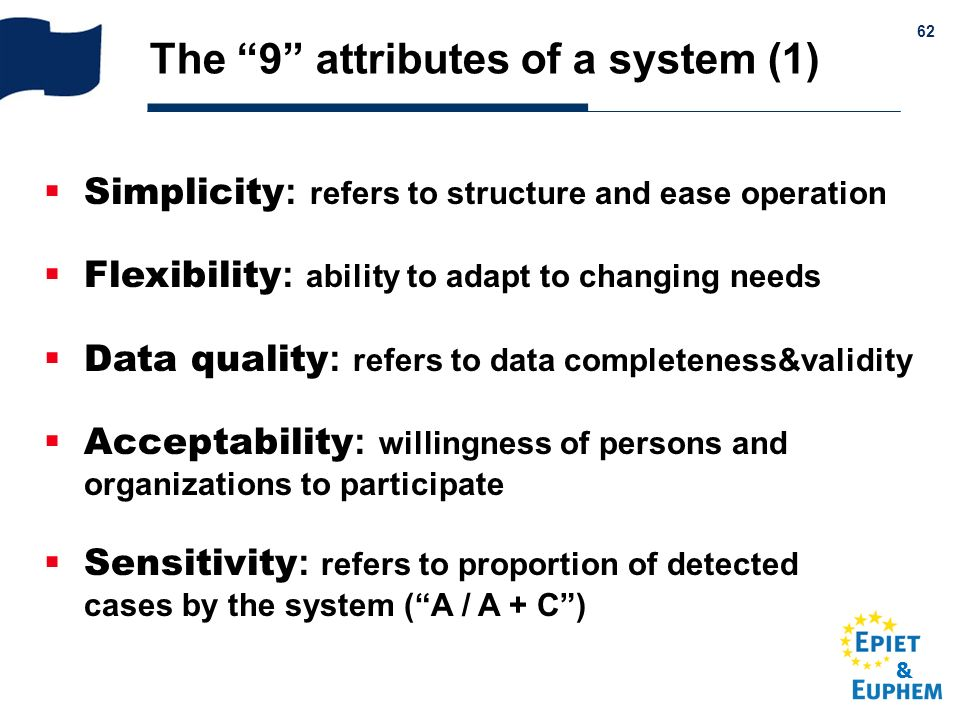 The 9 attributes of a system (1)