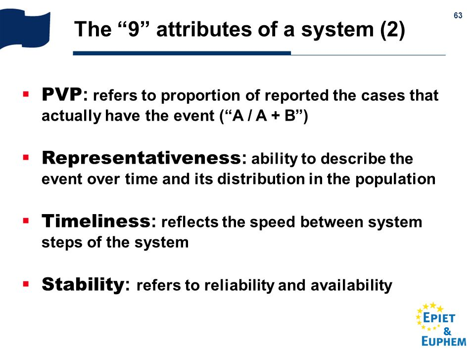 The 9 attributes of a system (2)