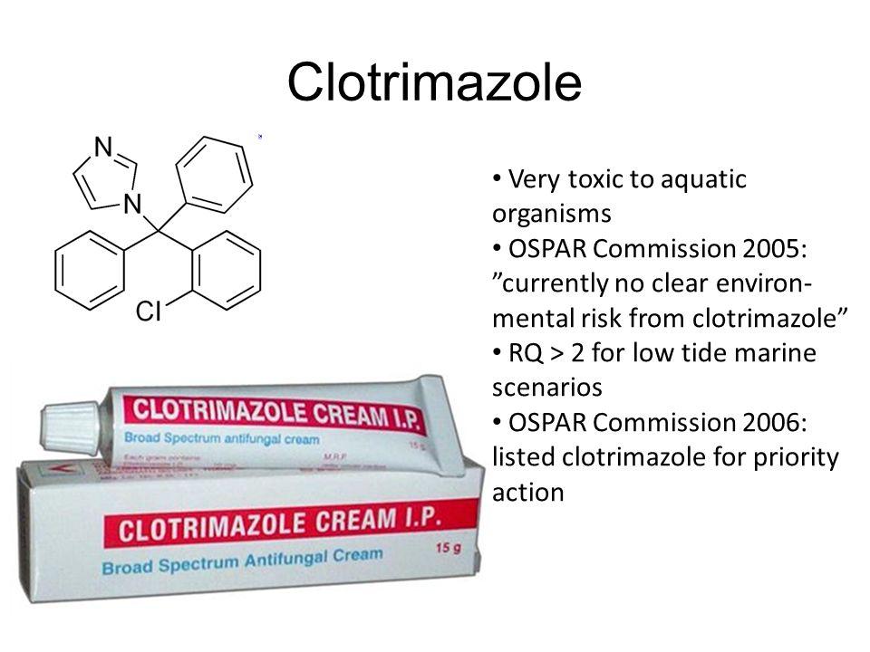 Clotrimazole Very toxic to aquatic organisms