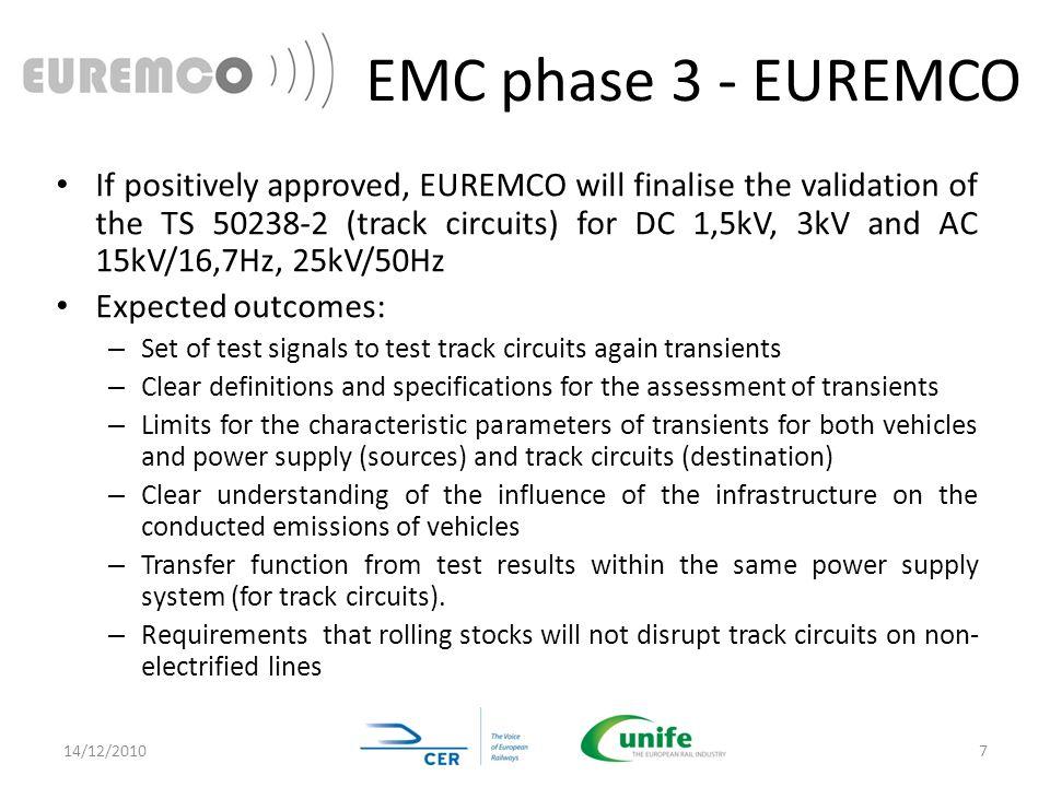 EMC phase 3 - EUREMCO