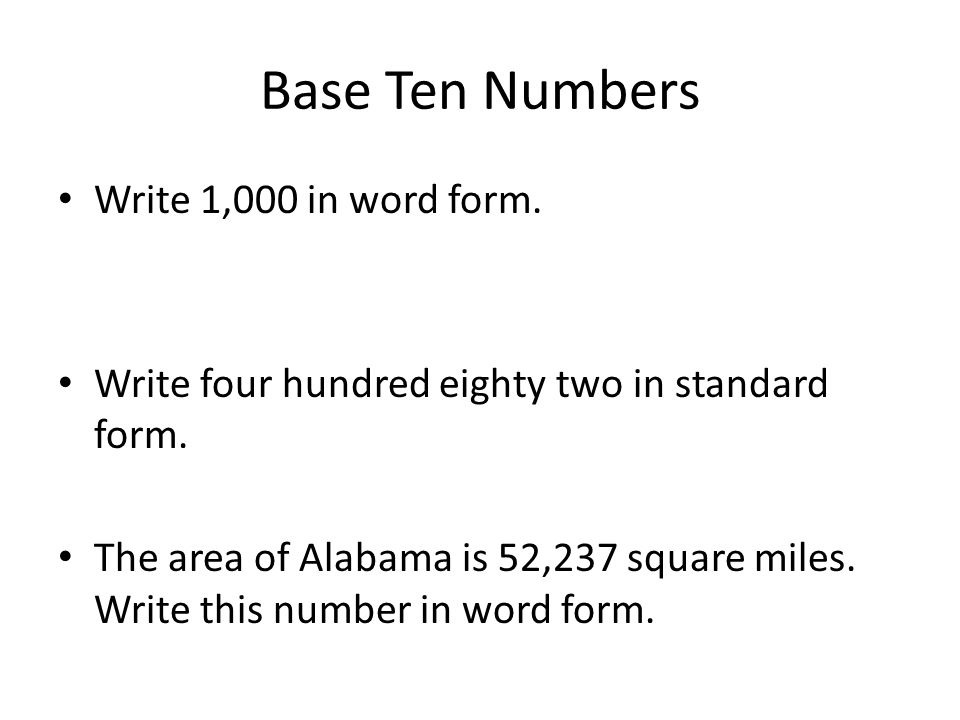 Learn about Number Bases