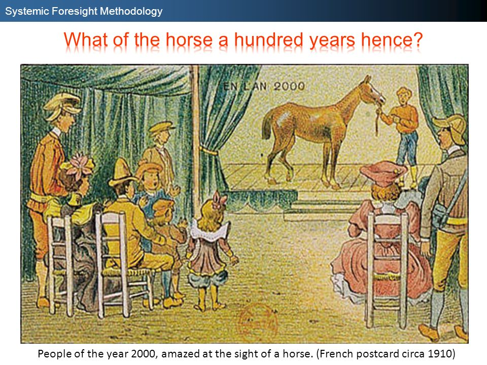 What of the horse a hundred years hence