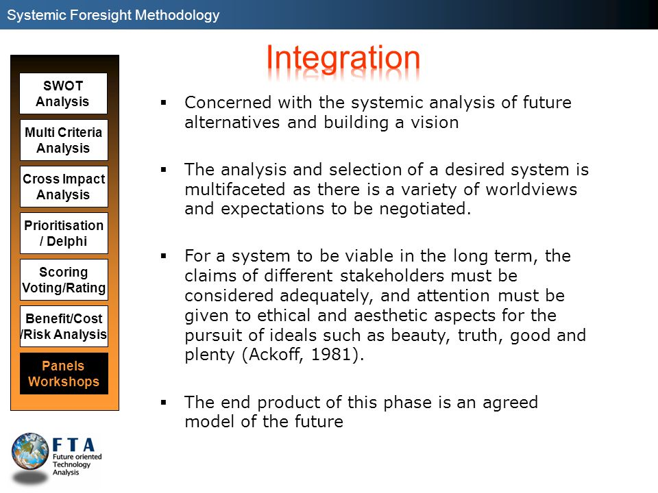 Systemic Foresight Methodology