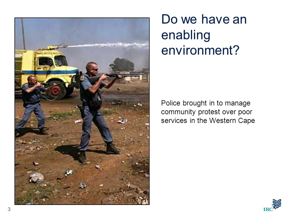 Do we have an enabling environment