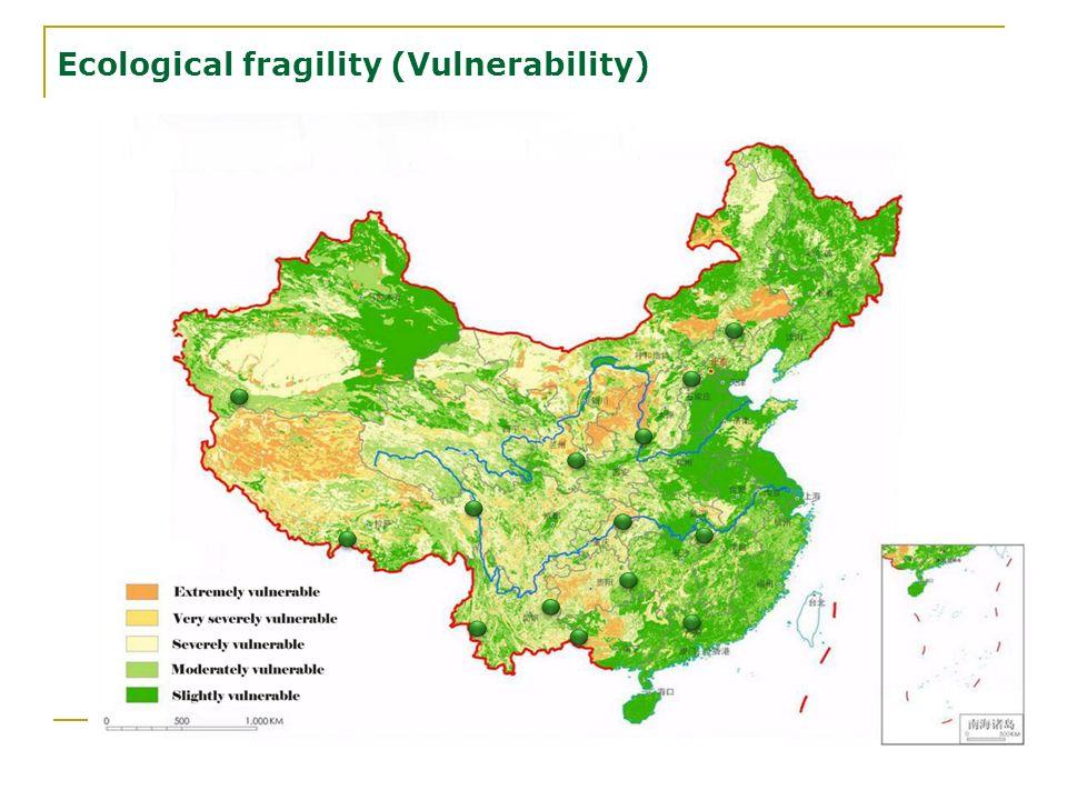 Ecological fragility (Vulnerability)