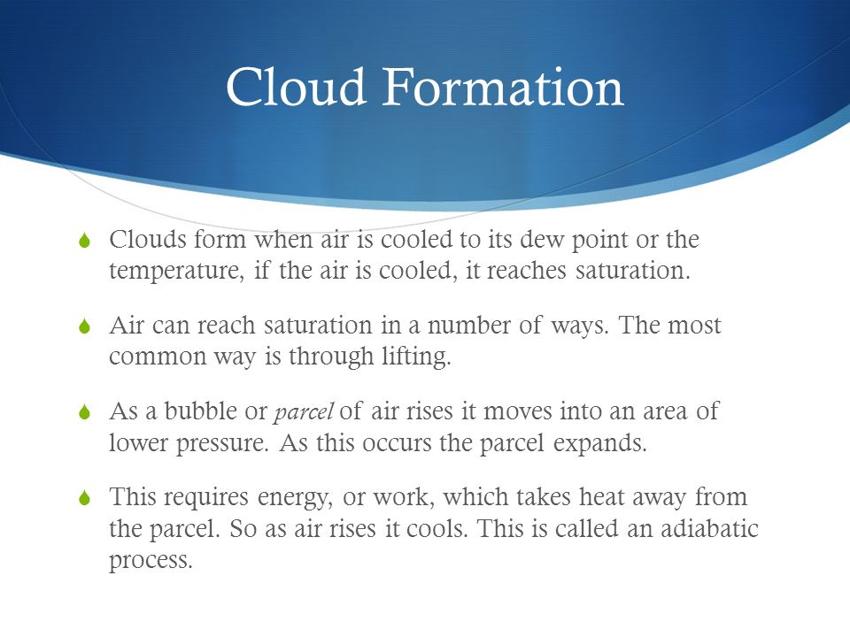 Moisture, clouds, and precipitation - ppt download