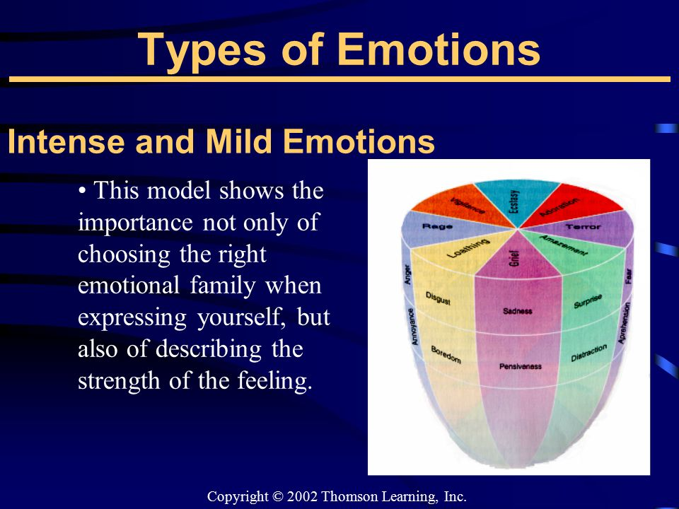 the importance of expressing feelings How important emotional expression is to a particular person in a particular circumstance will depend a on combination of these factors what may be more important that expressing your feelings is accepting them .