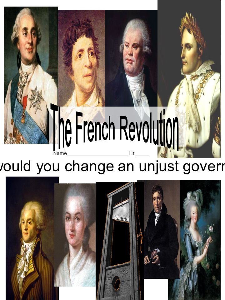 How would you change an unjust government