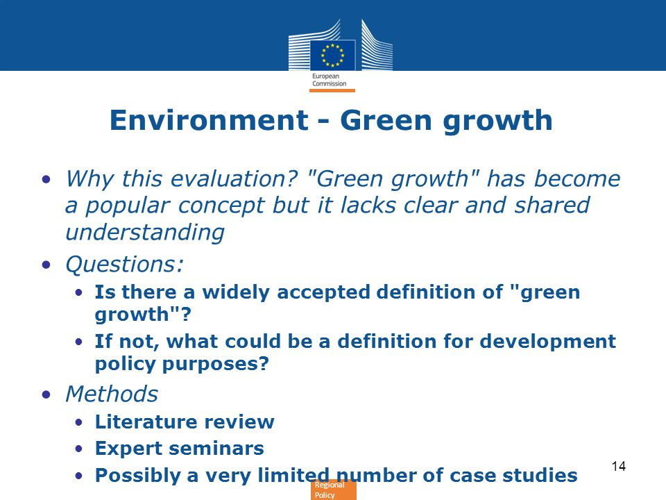 Environment - Green growth
