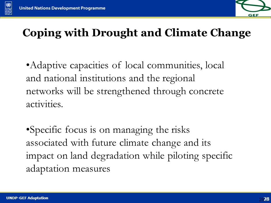Coping with Drought and Climate Change