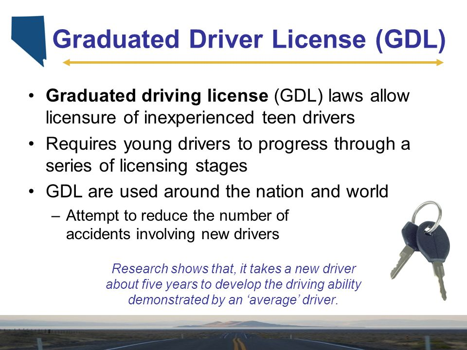 graduated drivers license