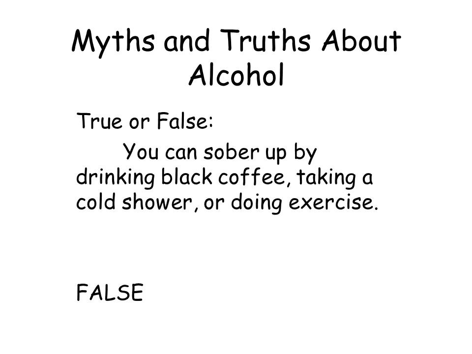 Alcohol other drugs and driving ppt download - Myths and truths about coffee ...