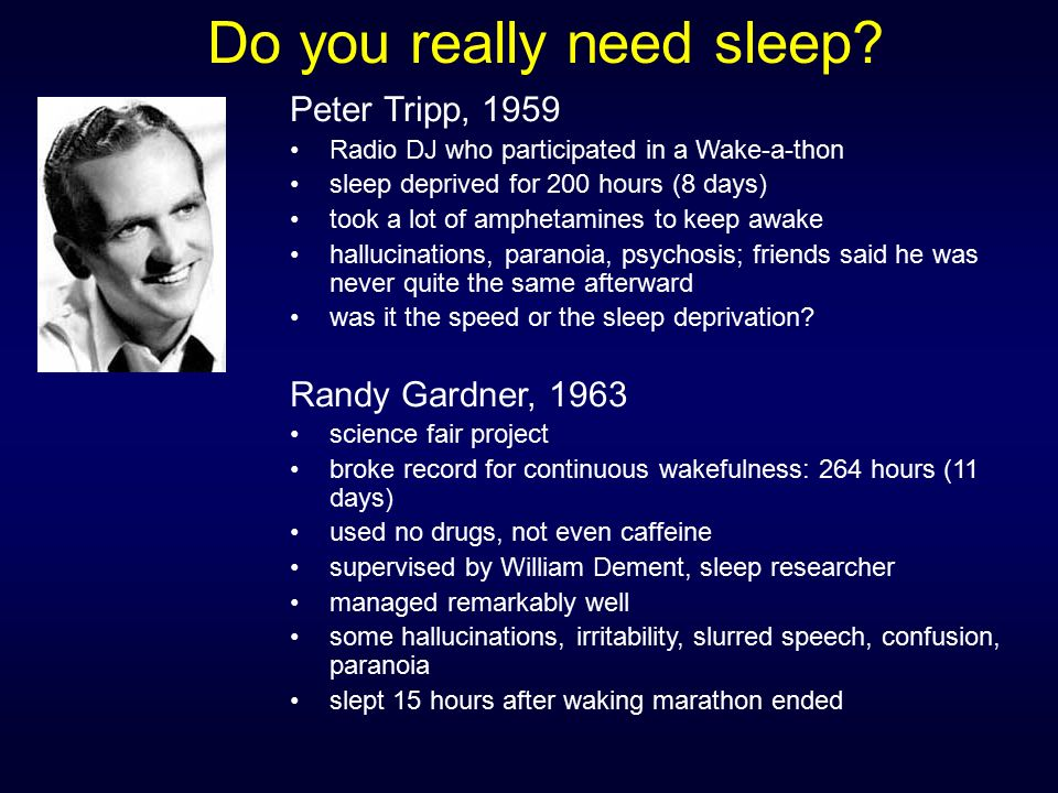 Sleep deprivation hallucinations