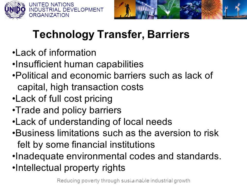 Technology Transfer, Barriers