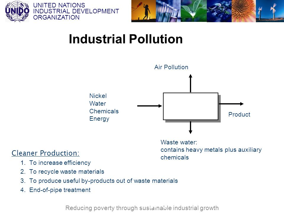 Industrial Pollution Efficiency: 80% VNCPC Cleaner Production:
