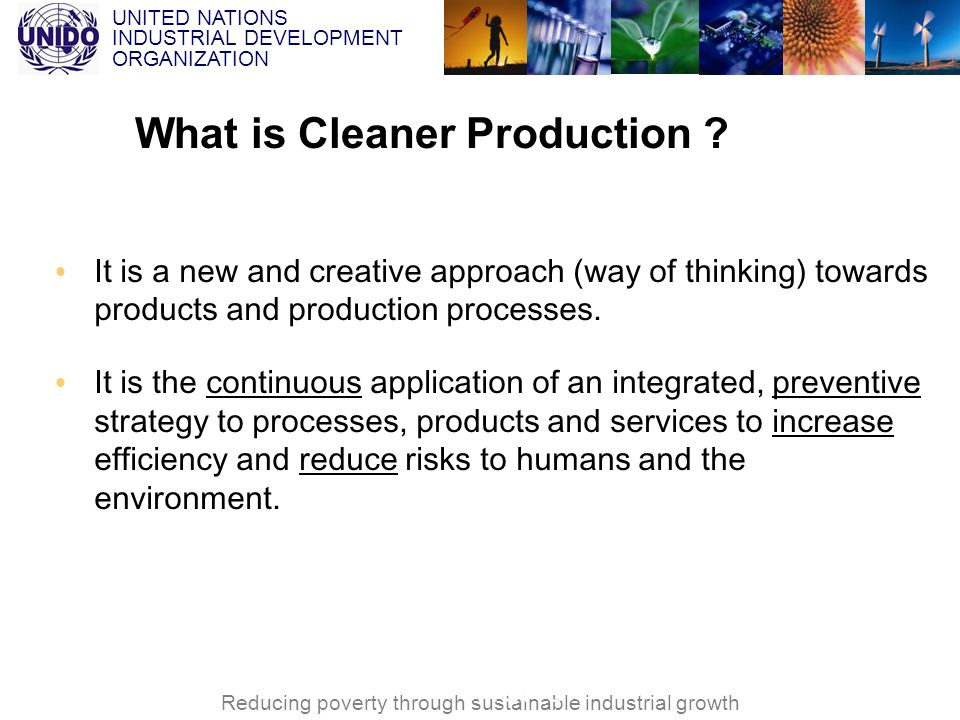 What is Cleaner Production