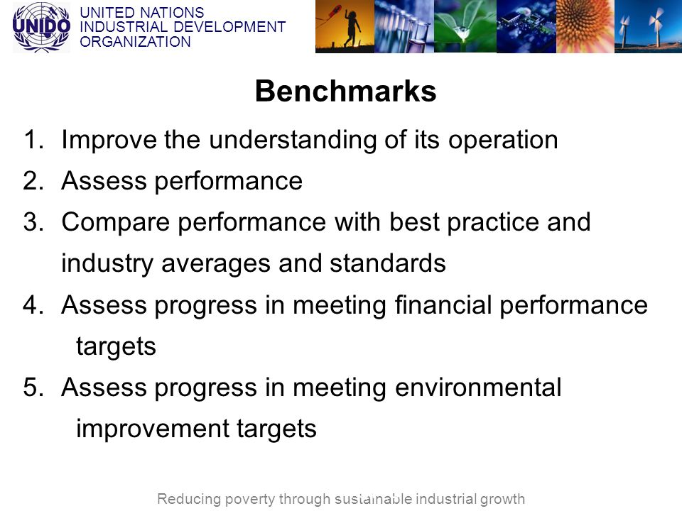 Benchmarks Improve the understanding of its operation