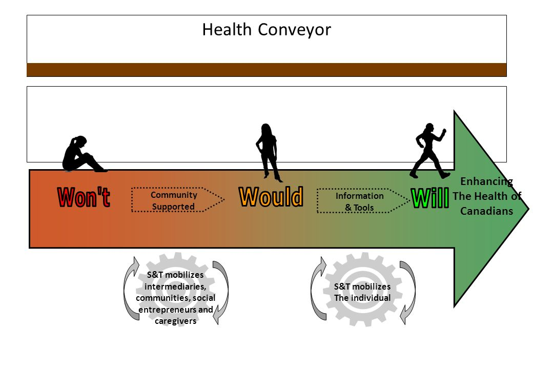 Health Conveyor Won t Would Will Enhancing The Health of Canadians