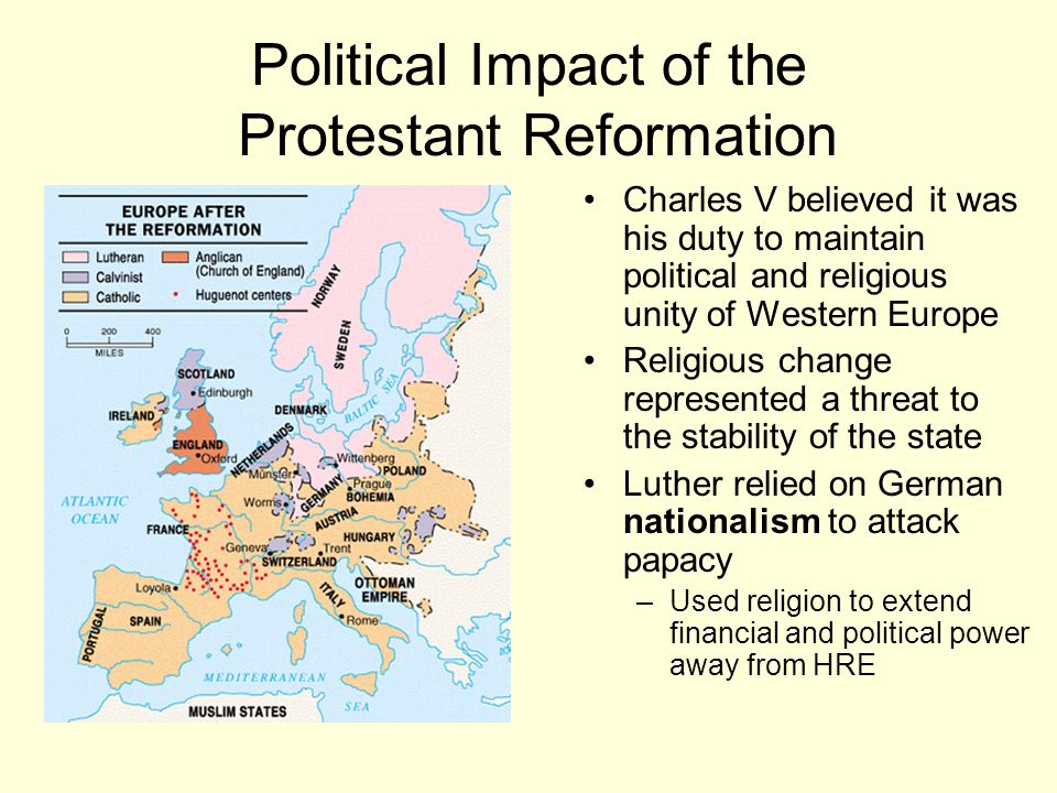 An Overview of the Reformation