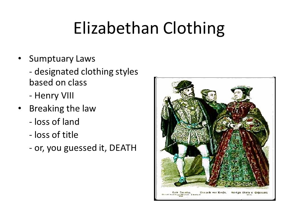 elizabethan clothing The elizabethan time period refers to the years 1558 through 1603, when queen elizabeth i was reigning queen over england and ireland here's a look at an era that focused more time on fashion and theater than any had previously.