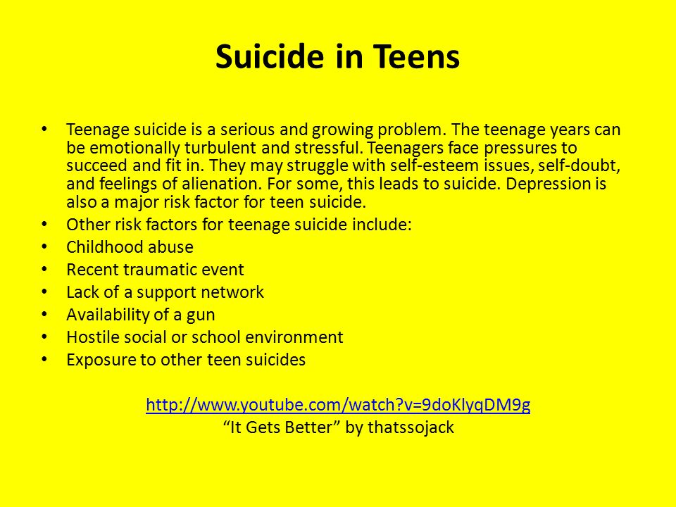 the major factors contributing to teen suicides The following risk factors  other factors contributing to suicide risk  mood disorders are a broad category of mental illness that includes major.