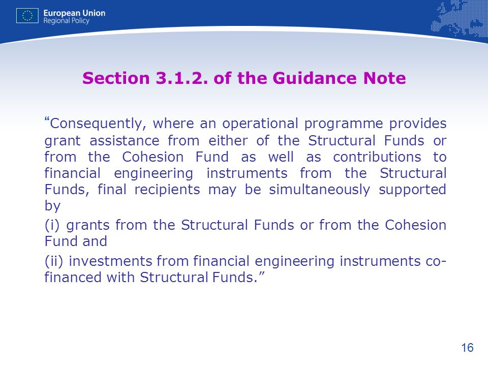 Section 3.1.2. of the Guidance Note