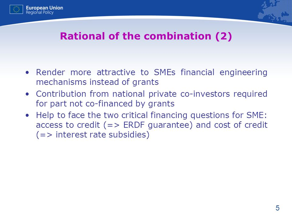 Rational of the combination (2)