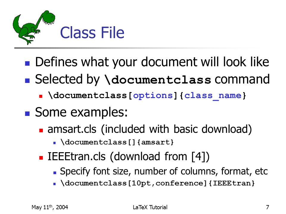 Latex book class file