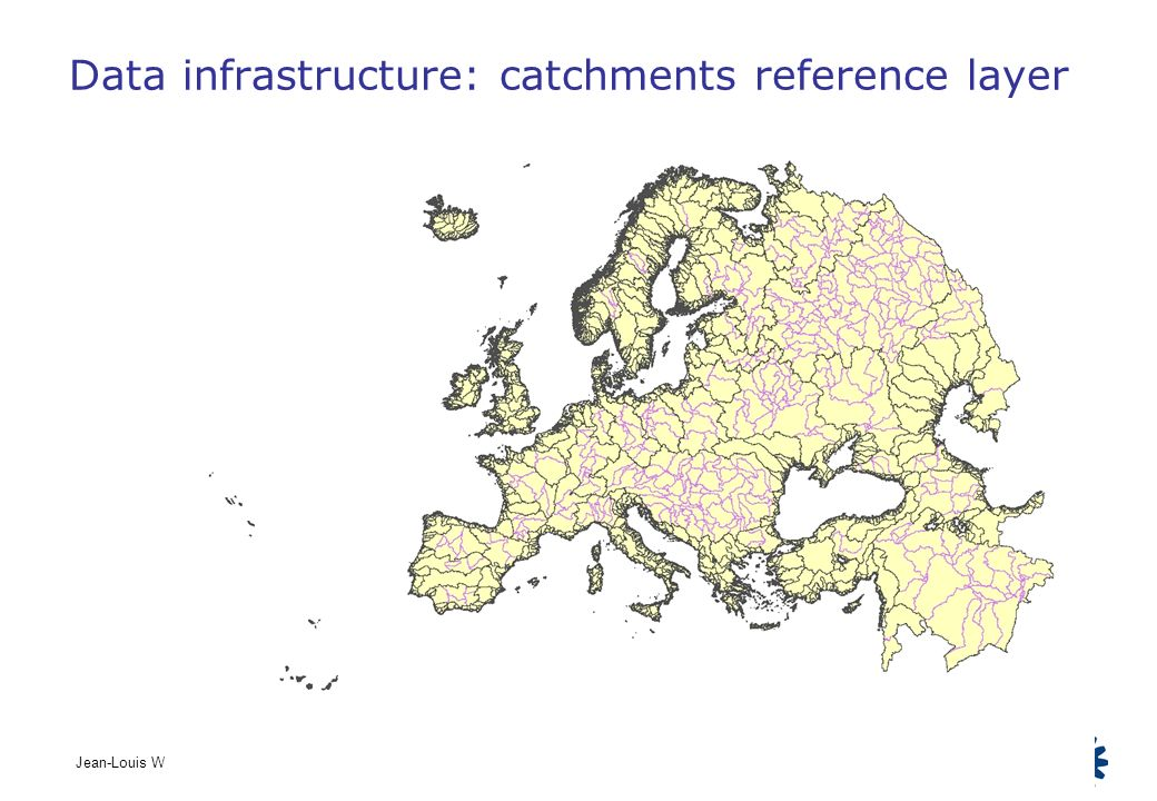 Data infrastructure: catchments reference layer