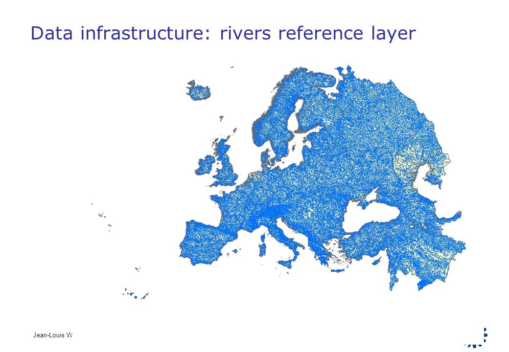 Data infrastructure: rivers reference layer