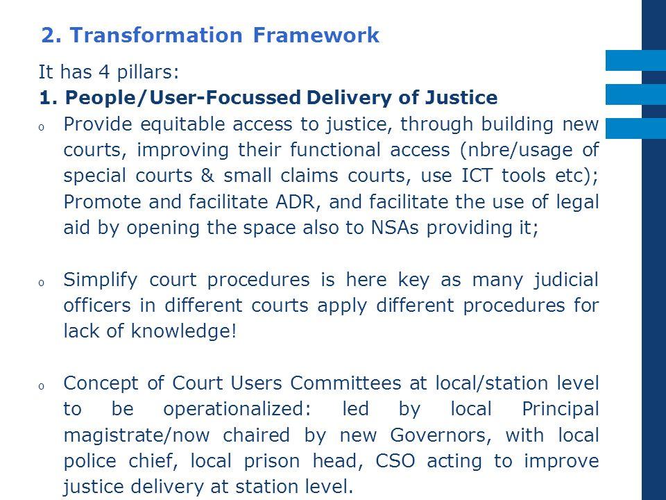 2. Transformation Framework