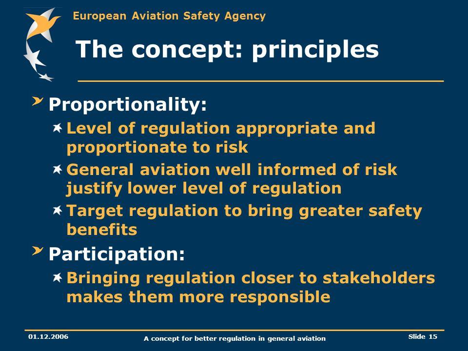 The concept: principles