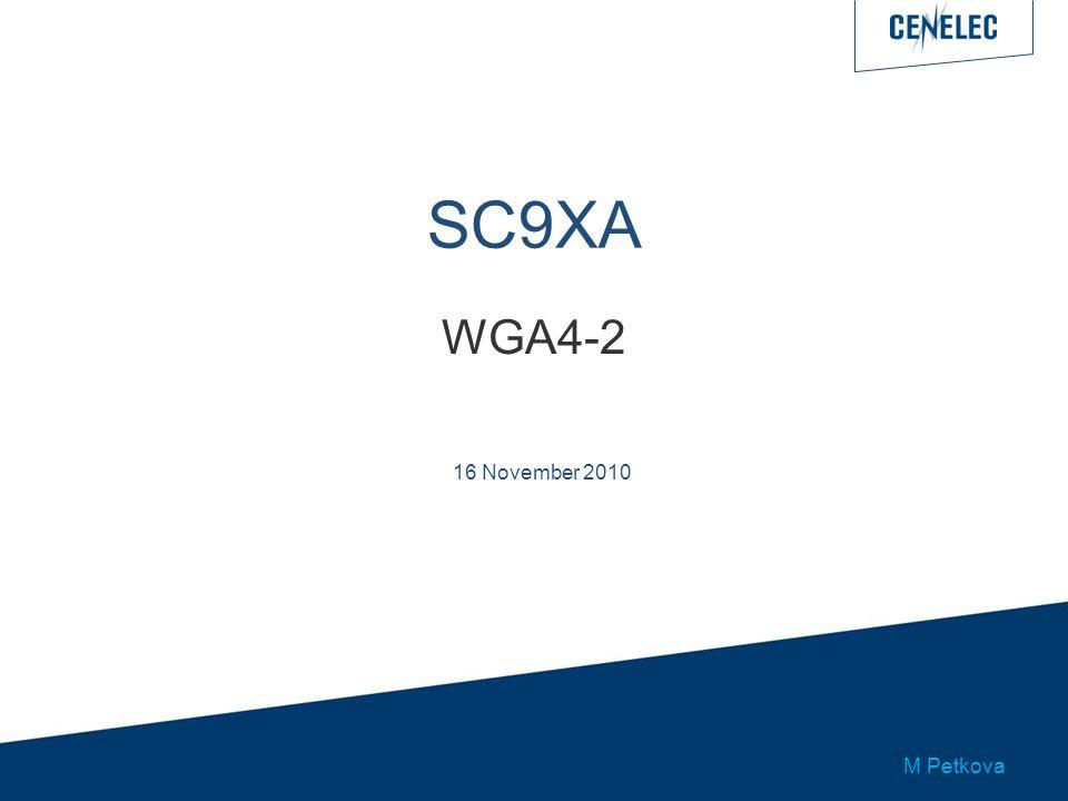 SC9XA WGA4-2 16 November 2010 M Petkova
