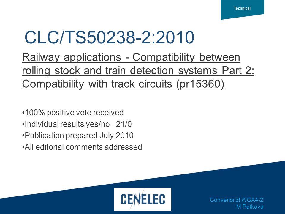 CLC/TS50238-2:2010