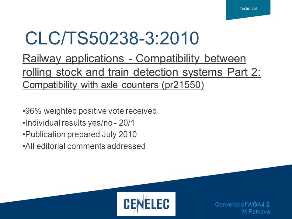CLC/TS50238-3:2010
