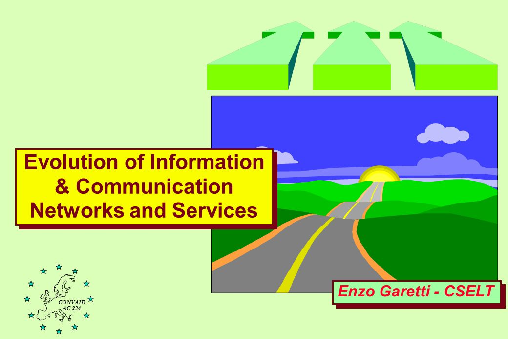 Evolution of Information & Communication Networks and Services