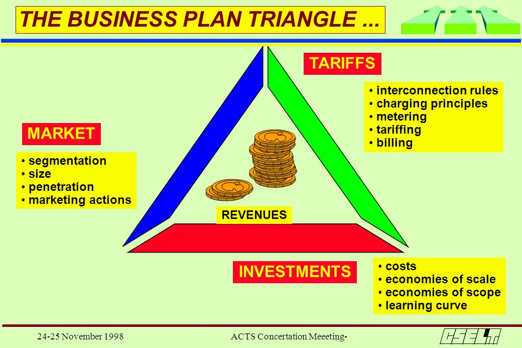 THE BUSINESS PLAN TRIANGLE ...
